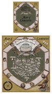 MinaLima Store - Quidditch World Cup Campsite Map
