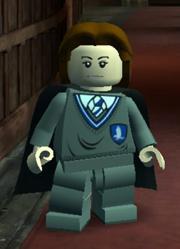 Pernille Klarvang som en LEGO minifigur