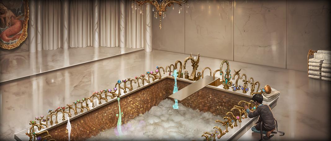 Salle de bains des pr fets wiki harry potter fandom for Salle de bain wikipedia