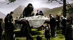 Dumbledore funeral