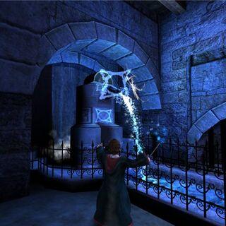 Применение в игре «Гарри Поттер и узник Азкабана»