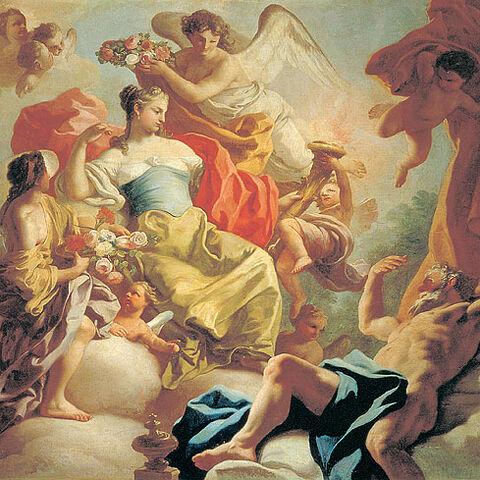 <i>«Аврора и Титан»</i><br />(картина Франческо де Мура)