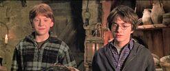 Harry-potter2-visit to Hagrid's hut