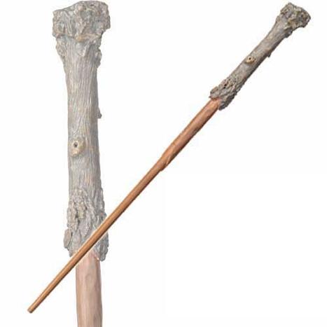 "Harry Potter REAL WOOD Ollivander Noble Wizarding Severus Snape Wand 14/"""