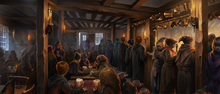 Three Broomsticks Inn Pottermore