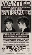 MinaLima Store - Newt Scamander Wanted Notice