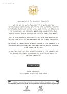 WU SOS Letter