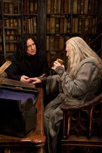 Снегг и Дамблдор