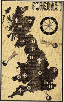 GroßbritannienWetterkarte
