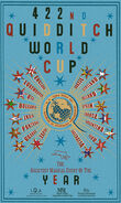 MinaLima Store - The 422nd Quidditch World Cup - Blue