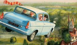 Ford Anglia - Jim Kay