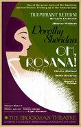 MinaLima Store - 'Oh Rosana!'