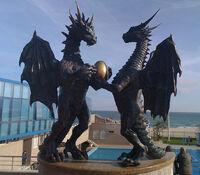 Дракон и Дракониха в Варне