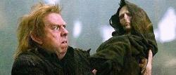 Pettigrew e Voldemort