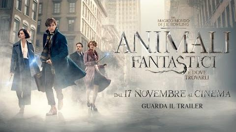 Animali Fantastici e Dove Trovarli - Trailer Ufficiale Italiano