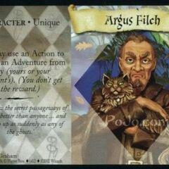 Изображение Филча в карточной игре