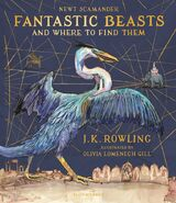 Fantastic Beasts Illustrated Edition cover