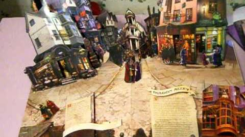 Harry Potter Movie Pop Up Book