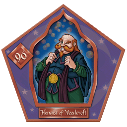 Hengist Of Woodcroft-96-chocFrogCard