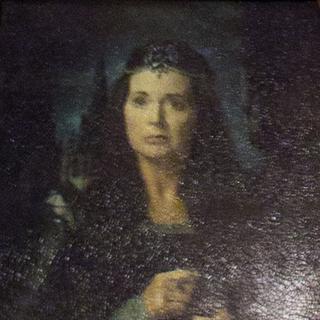 Кандида Когтевран на портрете
