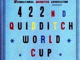 Программка 422-го Чемпионата мира по квиддичу