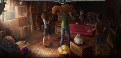 Pottermore- книга 3, глава 4 - Дырявый котел, магический зверинец