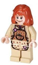 Molly som en lego minifigur