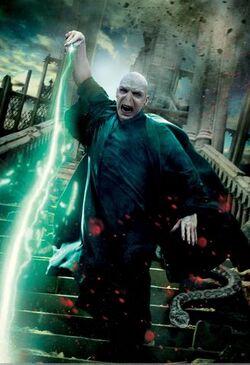 Poster de Voldemort em ação