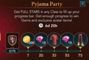 Pyjama party (hogwarts mystery game)
