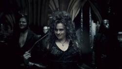 Death Eaters entered the Hogwarts Castle