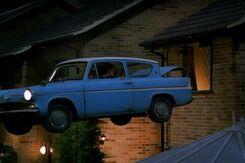 Ford Anglia volador