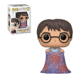 Harry with Invisibility Cloak pop vinyl