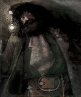 Jim Kay Rubeus Hagrid Illustration