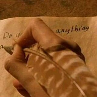 Гарри пишет в дневнике