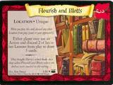 Flourish and Blotts (Trading Card)