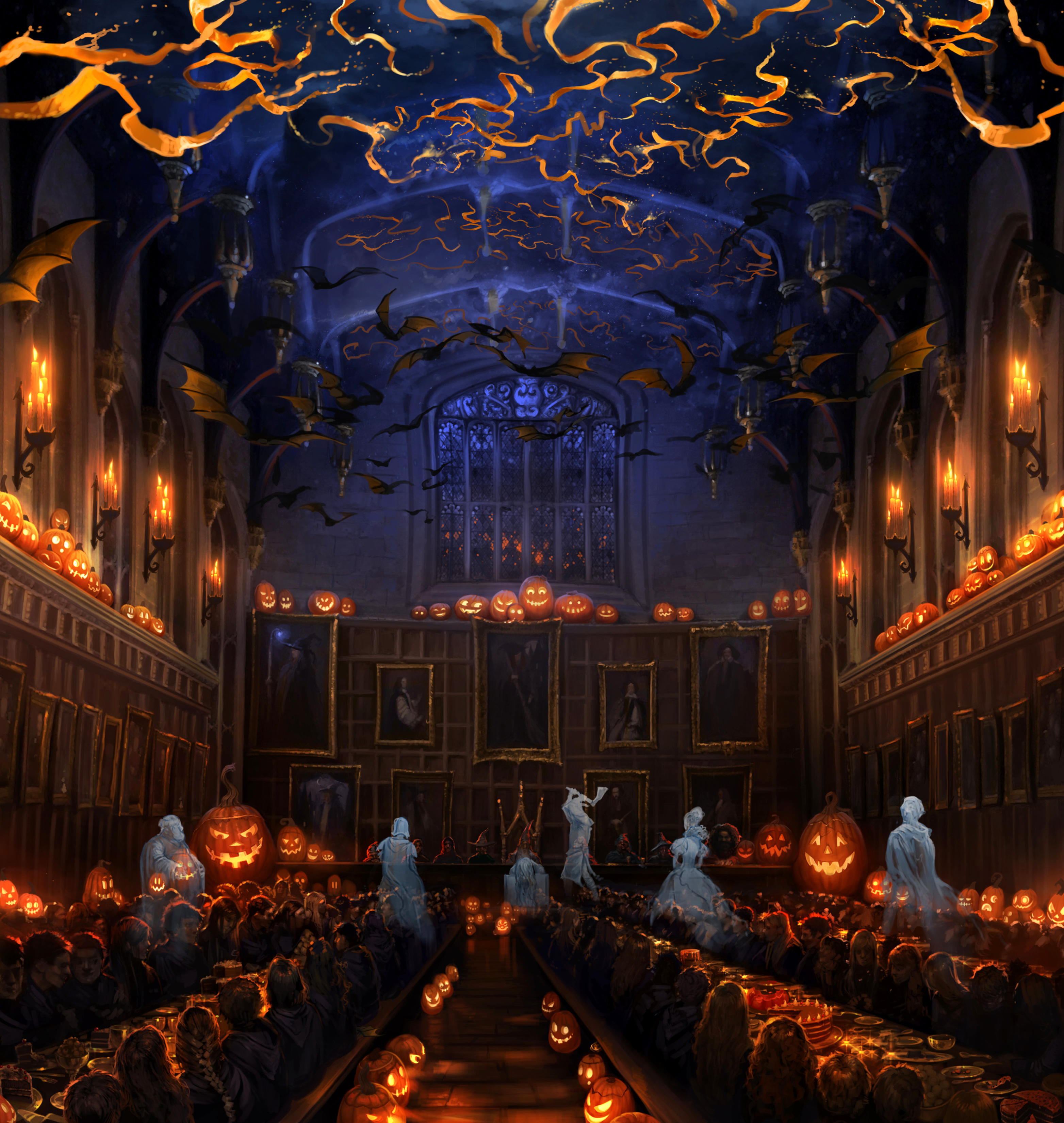 hallowe'en feast | harry potter wiki | fandom poweredwikia