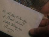 Lettre d'Albus Dumbledore à Pétunia Dursley