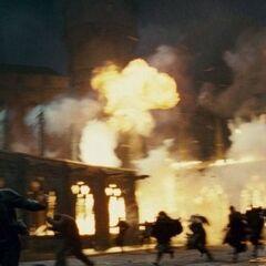 Битва в Хогвартсе