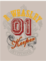 R. Weasley 01 Keeper Quidditch™ Poster - Harry Potter and the Half-Blood Prince™.png