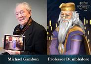 HM promo Michael Gambon Albus Dumbledore