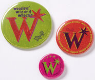 MinaLima Store - Weasleys' Wizard Wheezes Pack of 3 Badges