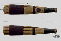 Quidditch Bludger Bat (Concept Artwork)