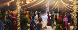 Wedding of William Weasley and Fleur Delacour