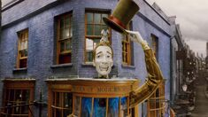 Exterior of Weasleys Wizards Wheezes shop