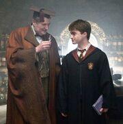 Potter en Slakhoorn