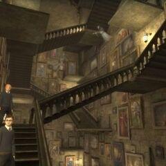 Многочисленные площадки и лестницы