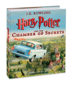 Harry Potter and the Chamber of Secrets cover Jim Kay