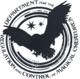 Department for the Regulation and Control of Magical Creatures logo-0