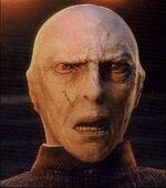 Quirrell's Voldemort-Hinterkopf