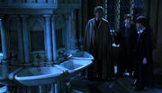 Lockhart Ron e Harry bagno di Mirtilla